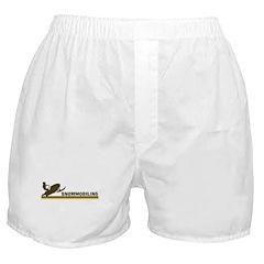 Retro Snowmobiling Boxer Shorts