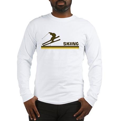 Retro Skiing Long Sleeve T-Shirt