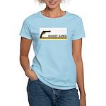 Retro Shoot Guns Women's Light T-Shirt