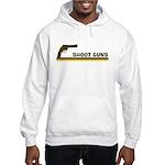 Retro Shoot Guns Hooded Sweatshirt