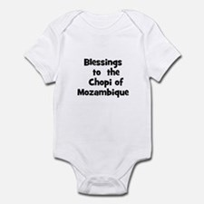 Blessings  to  the  Chopi of  Infant Bodysuit