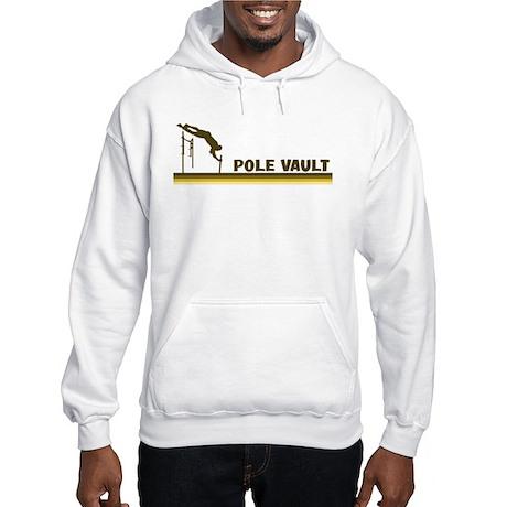Retro Pole Vault Hooded Sweatshirt