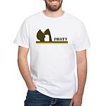 Retro Party White T-Shirt