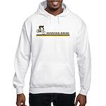 Retro Mountain Biking Hooded Sweatshirt