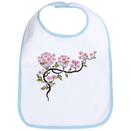 Cherry Blossom Bib
