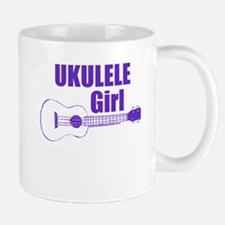 Girls Ukulele Mugs