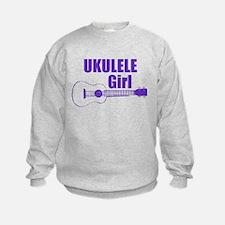 Girls Ukulele Sweatshirt