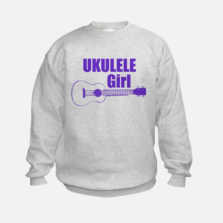 Girls Ukulele Sweatshirt