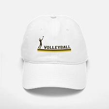 Retro Mens Volleyball Baseball Baseball Cap