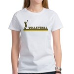Retro Mens Volleyball Women's T-Shirt