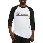 Retro Marijuana Baseball Jersey