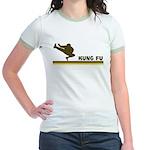 Retro Kung Fu Jr. Ringer T-Shirt
