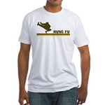 Retro Kung Fu Fitted T-Shirt