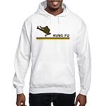 Retro Kung Fu Hooded Sweatshirt