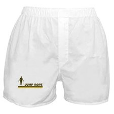 Retro Jump Rope Boxer Shorts