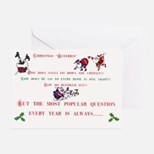 Crazy Christmas Cards Greeting Card