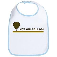 Retro Hot Air Balloon Bib