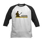 Retro Guitar Kids Baseball Jersey