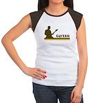 Retro Guitar Women's Cap Sleeve T-Shirt