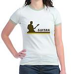 Retro Guitar Jr. Ringer T-Shirt