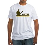 Retro Guitar Fitted T-Shirt
