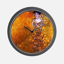 Klimt: Adele Bloch-Bauer I. Wall Clock