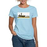 Retro Fish Women's Light T-Shirt