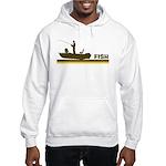 Retro Fish Hooded Sweatshirt