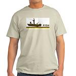 Retro Fish Light T-Shirt