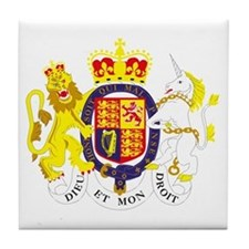 United Kingdom Tile Coaster
