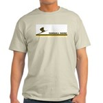 Retro Downhill Skiing Light T-Shirt