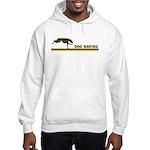 Retro Dog Racing Hooded Sweatshirt