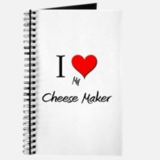 I Love My Cheese Maker Journal