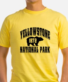 Yellowstone Old Style Black T-Shirt