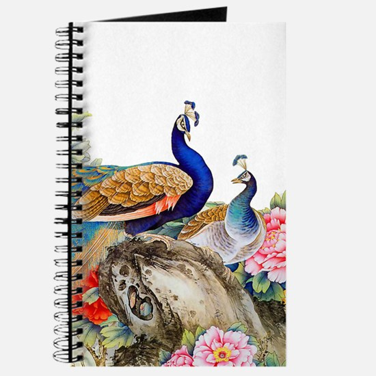 Traditional Chinese Peacocks Journal