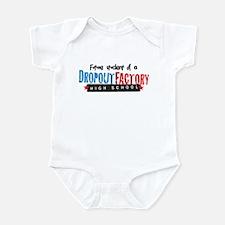 Dropout Factory High School Infant Bodysuit