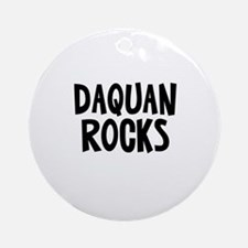 Daquan Rocks Ornament (Round)
