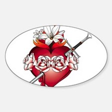 Immaculate Heart of Mary Decal
