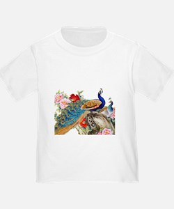 Traditional Chinese Peacocks T-Shirt