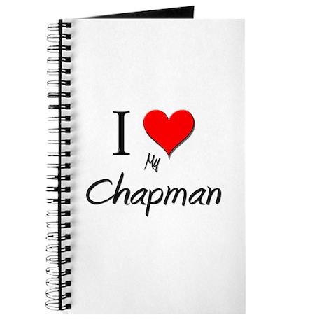 I Love My Chapman Journal