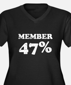 Member 47 Percent Plus Size T-Shirt