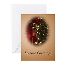 Xmas 2007 Holiday Bow Greeting Cards (Pk of 10)