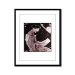 Sappho Framed Panel Print