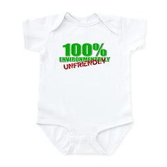 100% Environmentally Unfriend Infant Bodysuit