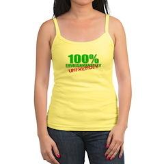 100% Environmentally Unfriend Jr.Spaghetti Strap