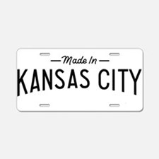 Cute Kansas city Aluminum License Plate