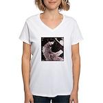 Sappho Women's V-Neck T-Shirt