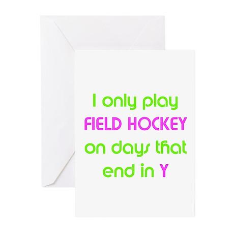 SportChick's HockeyChick Days Greeting Cards (Pk o