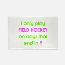 SportChick's HockeyChick Days Rectangle Magnet