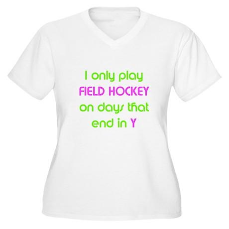 SportChick's HockeyChick Days Women's Plus Size V-